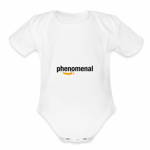 Phenomezon - Organic Short Sleeve Baby Bodysuit