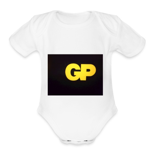 GP slime - Organic Short Sleeve Baby Bodysuit