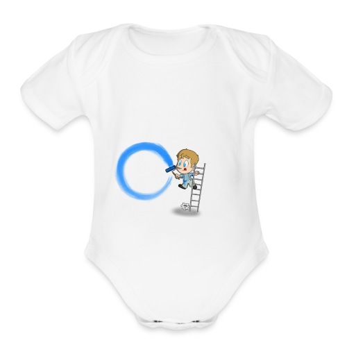 I'm A T1D - Organic Short Sleeve Baby Bodysuit