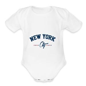 New York City Shirt - Short Sleeve Baby Bodysuit