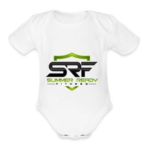 SRFLOGO forWhiteBG - Short Sleeve Baby Bodysuit