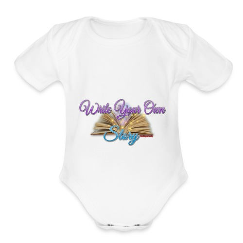 Write Your Own Story - Organic Short Sleeve Baby Bodysuit