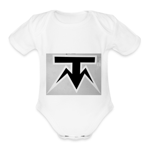 TMoney - Organic Short Sleeve Baby Bodysuit