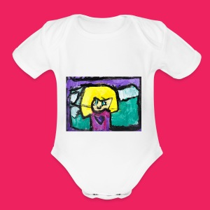 Self Portrait - Short Sleeve Baby Bodysuit