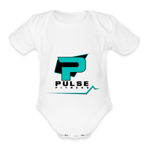 Pulse Fitness - Organic Short Sleeve Baby Bodysuit