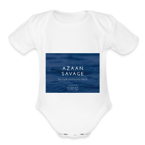Azaansavage - Short Sleeve Baby Bodysuit