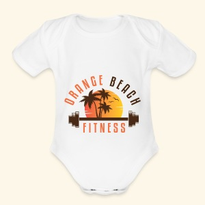 OBF Logo (Multi-Color) - Short Sleeve Baby Bodysuit