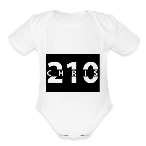 Chris_210 - Organic Short Sleeve Baby Bodysuit
