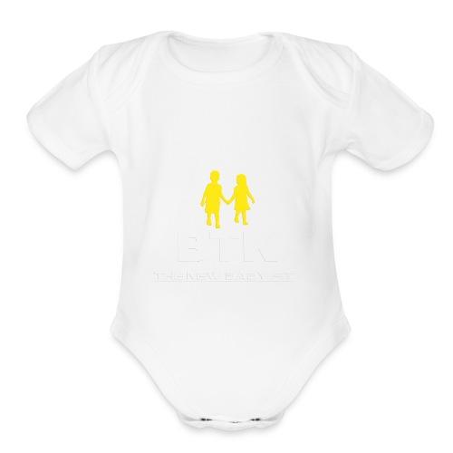 BTK TWINS - Organic Short Sleeve Baby Bodysuit