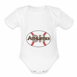DHAthletics - Short Sleeve Baby Bodysuit
