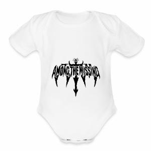 """Among The Missing """"Illuminati"""" Logo - Short Sleeve Baby Bodysuit"""