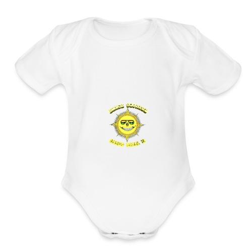 Blake Squared Spring Break '18 - Organic Short Sleeve Baby Bodysuit