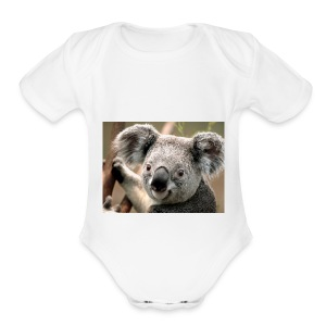 Koala - Short Sleeve Baby Bodysuit