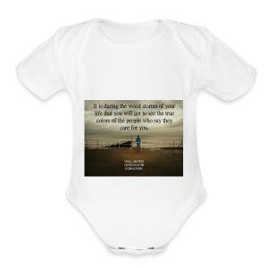 TM - Short Sleeve Baby Bodysuit