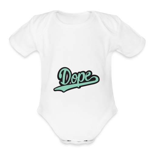icy - Organic Short Sleeve Baby Bodysuit