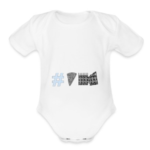 Untitled_drawing - Short Sleeve Baby Bodysuit