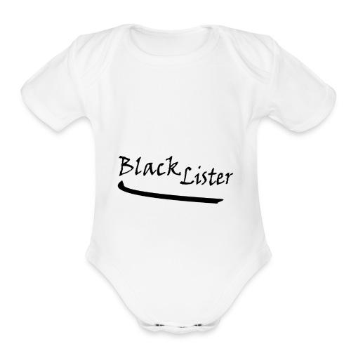 blacklister - Organic Short Sleeve Baby Bodysuit