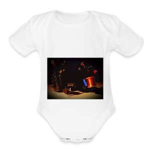 self taken picture - Short Sleeve Baby Bodysuit