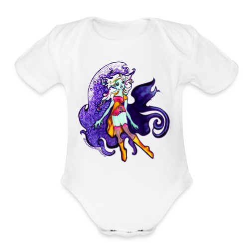 MD Magic Moves Me - Organic Short Sleeve Baby Bodysuit