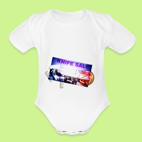 HORRIBLE, INCREDIBLY HORRIBLE - Organic Short Sleeve Baby Bodysuit