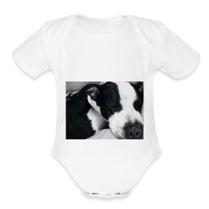 9BDF4E7B 389A 4D50 A362 89D2129FC5DB - Short Sleeve Baby Bodysuit
