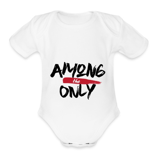 Among the Only - Organic Short Sleeve Baby Bodysuit