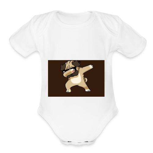 7FD307CA 0912 45D5 9D31 1BDF9ABF9227 - Organic Short Sleeve Baby Bodysuit