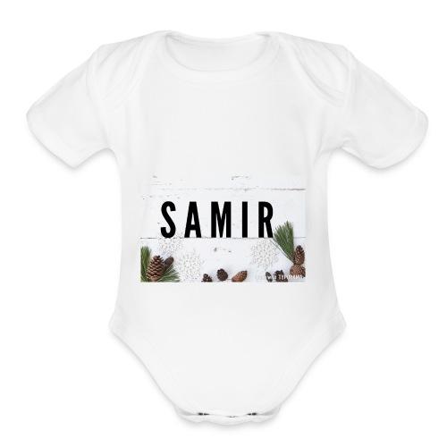 IMG 2764 - Organic Short Sleeve Baby Bodysuit