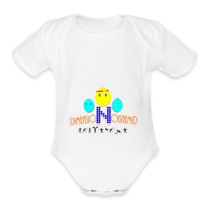 Dimension Design - Short Sleeve Baby Bodysuit