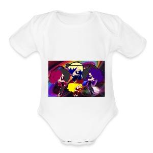 ruwdyrock girl - Short Sleeve Baby Bodysuit