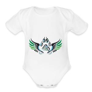 Summer Design - Short Sleeve Baby Bodysuit