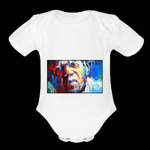 Keith B. Still image from Twitter - Organic Short Sleeve Baby Bodysuit