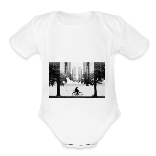 Pondert - Organic Short Sleeve Baby Bodysuit
