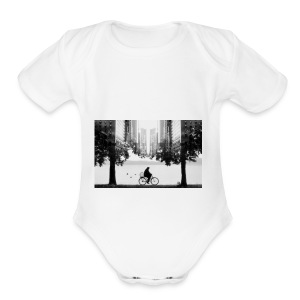 Pondert - Short Sleeve Baby Bodysuit