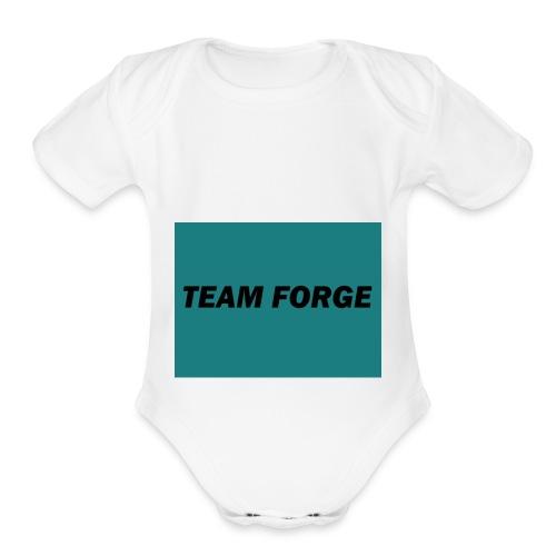 TEAM FORGE - Organic Short Sleeve Baby Bodysuit