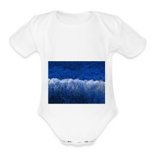 Winter - Short Sleeve Baby Bodysuit