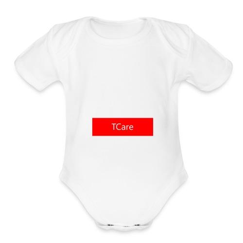 TCare Supreme - Organic Short Sleeve Baby Bodysuit