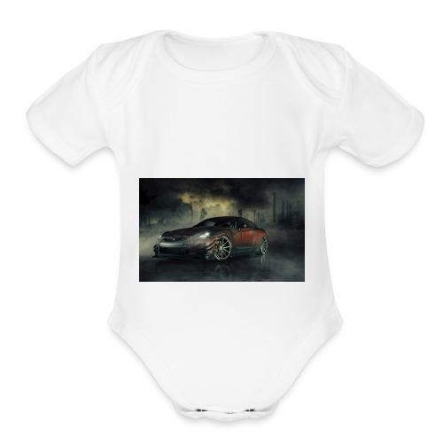 Gtr - Organic Short Sleeve Baby Bodysuit
