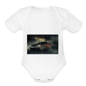 Gtr - Short Sleeve Baby Bodysuit