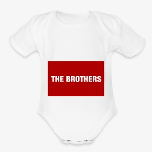 The Brothers - Short Sleeve Baby Bodysuit