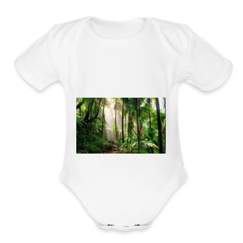 First merch - Organic Short Sleeve Baby Bodysuit