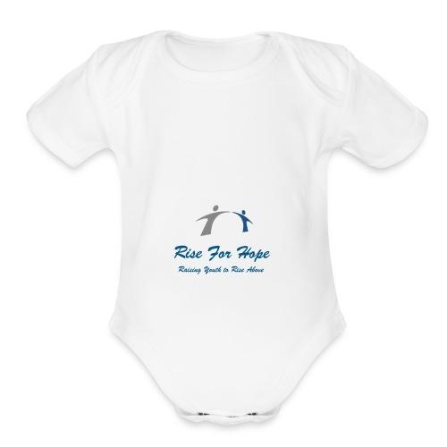 Rise for Hope - Organic Short Sleeve Baby Bodysuit