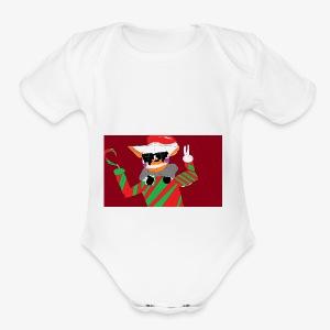 HOILDAY LOLBITGAMING - Short Sleeve Baby Bodysuit