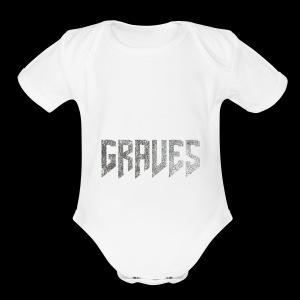 Graves Logo - Short Sleeve Baby Bodysuit