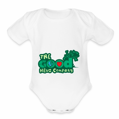 The GOOD News logo - Organic Short Sleeve Baby Bodysuit