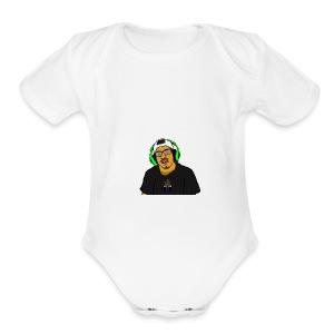 Profile pic - Short Sleeve Baby Bodysuit