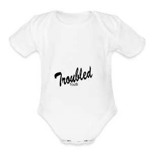 Troubled Youth 2 - Short Sleeve Baby Bodysuit