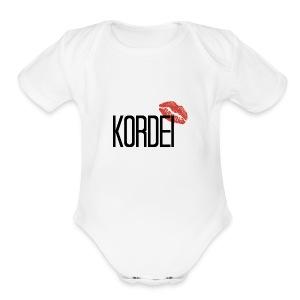 KORDEI - Short Sleeve Baby Bodysuit