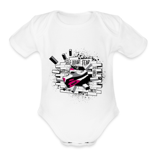 No_Limits - Organic Short Sleeve Baby Bodysuit
