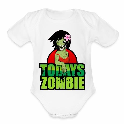 Sexy Zombie | Today's Zombie - Organic Short Sleeve Baby Bodysuit